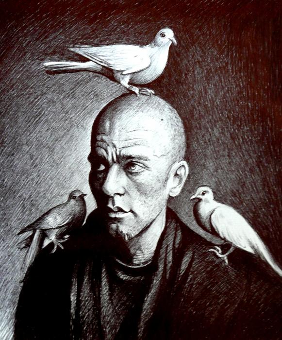 Michael Stipe by mariebouldingue